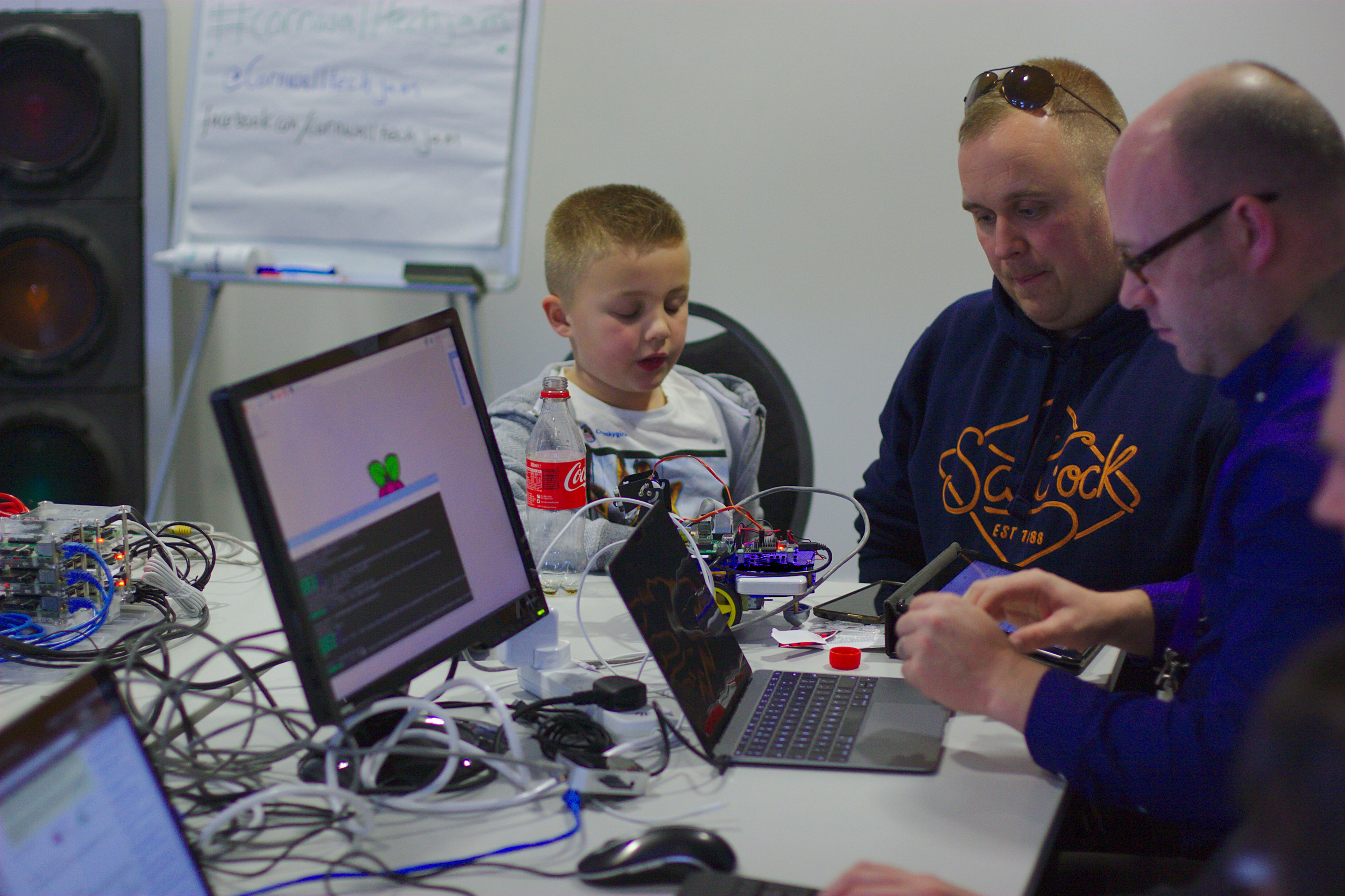 Photo from April's Tech Jam